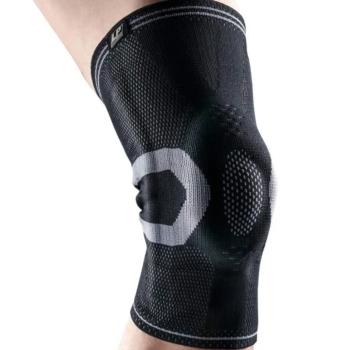 Knæbandage med fleksibel stålfjedre