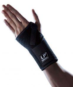 Håndledsbandage med skinne og velcrolukning. Skinnen kan tages ud. | LP-521CA