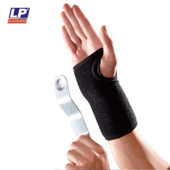 Håndledsbandage med skinne / Håndledsstøtte med skinne og velcrolukning. Skinnen kan tages ud | LP-521CA