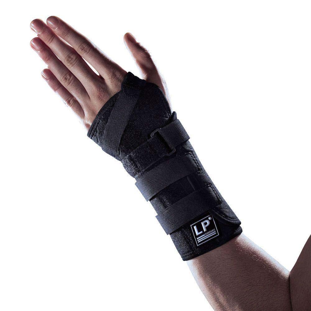 Image of   Håndledsstøtte i neopren med 2 skinner og 4 velcrolukning