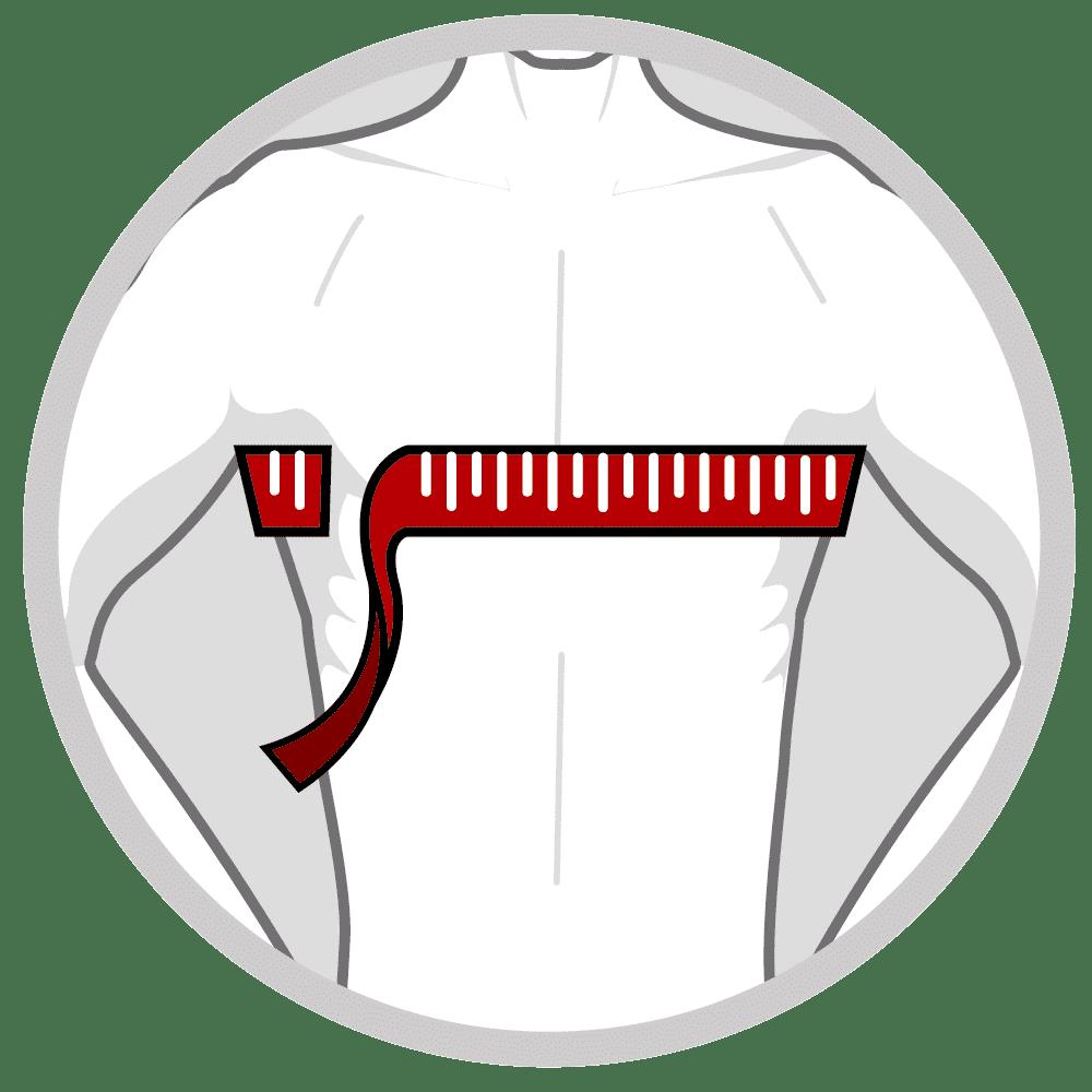 Holdningskorrigerende ryg og skulderstøtte