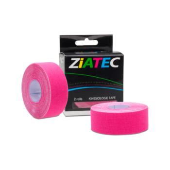 Smal kinesiotape i pink fra Ziatec