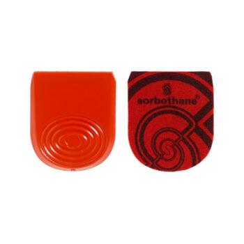 Sorbothane® stødabsorberende hælpuder til hælen
