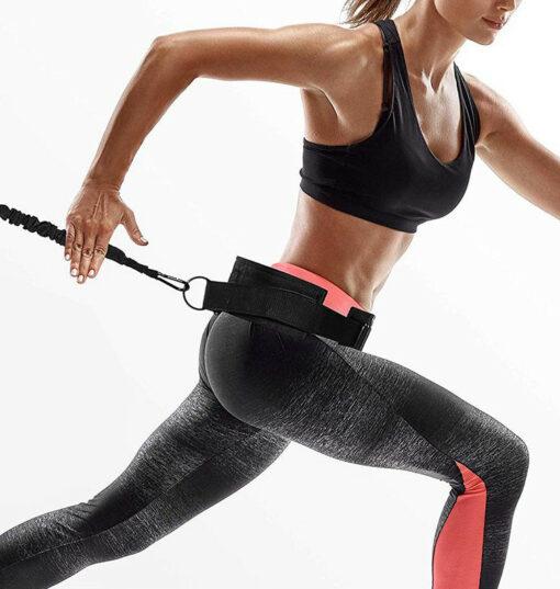 Mavebælte til træningselastikker 1